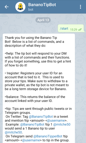 Telegram Groups & Channels | banano how
